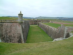 Fort George turret.