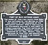 Fort of San Antonio Abad - historic plaque.JPG