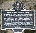 Fort of San Antonio Abad - historic plaque.JPG