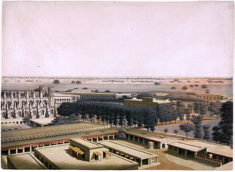 Fort William, India - Fort William, a view from the inside, c. 1828