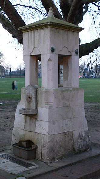 Richmond Green - Image: Fountain Richmond Green