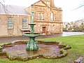 Fountain in the grounds of Victoria Halls - geograph.org.uk - 1614999.jpg