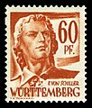 Fr. Zone Württemberg 1947 10 Friedrich Schiller.jpg