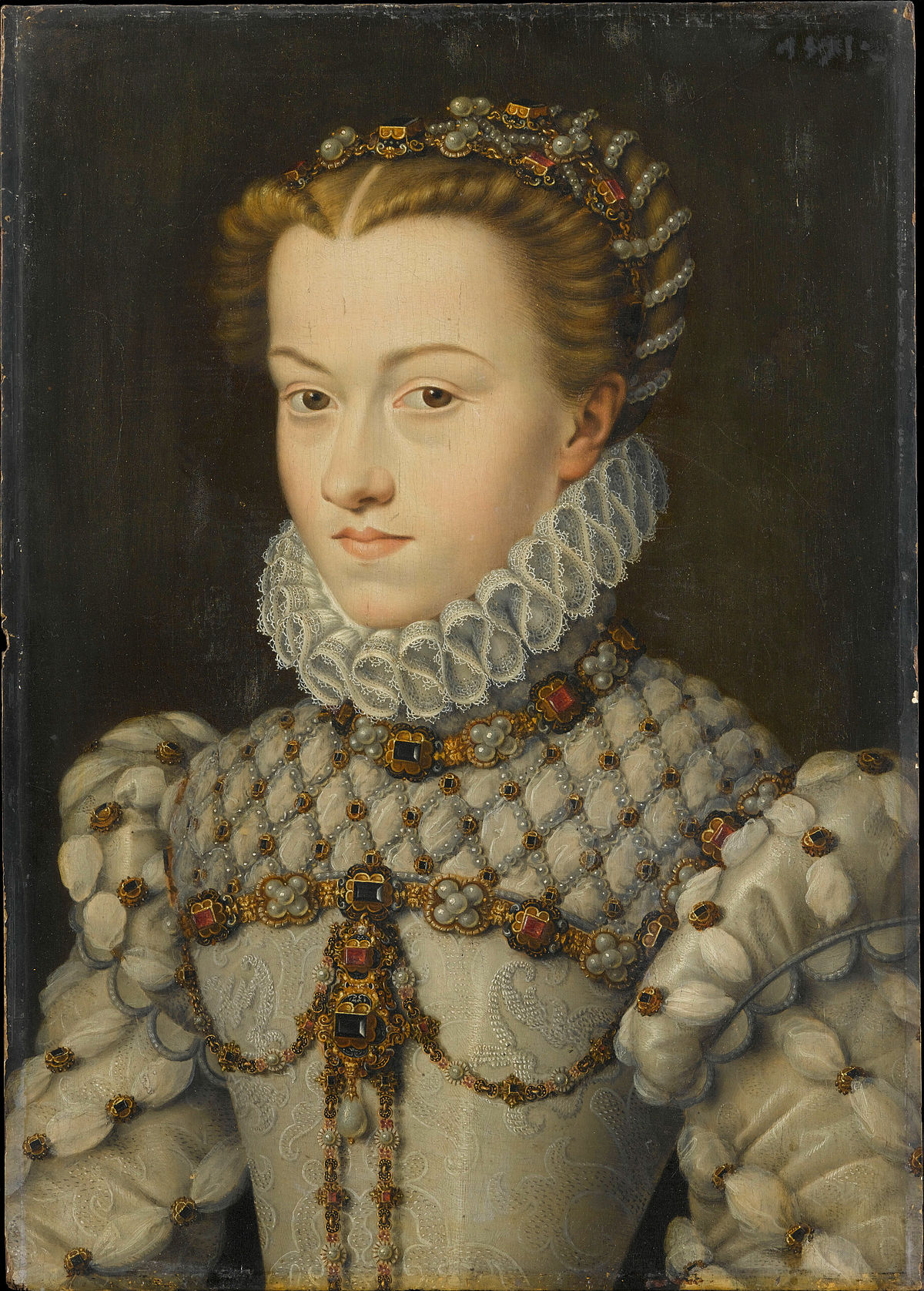 Lisabeth d 39 autriche 1554 1592 wikip dia for 29 in french