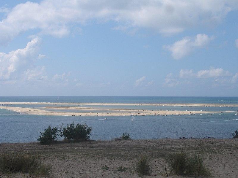 Fichier:France-Gironde-Banc d'Arguin-maree basse.jpg