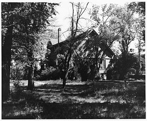 Francis G. Newlands Home - Francis G. Newlands Home in 1961