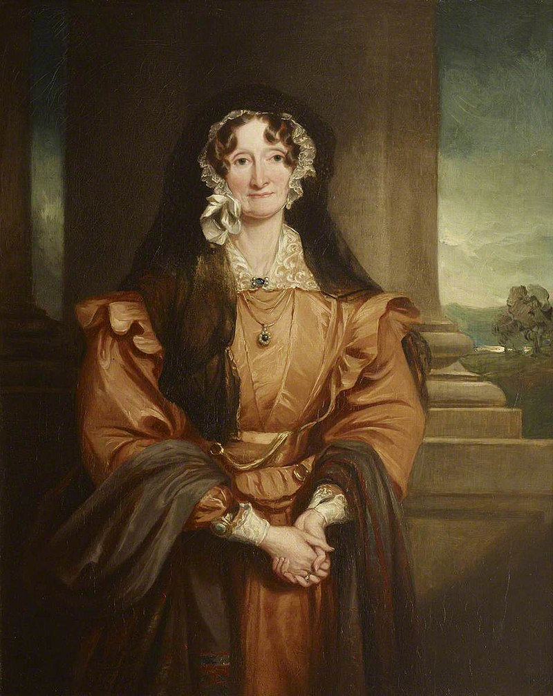 Francis Grant (1803-1878) - The Honourable Elizabeth Albana Upton (1775–1844), Marchioness of Bristol - 851725.1 - National Trust.jpg