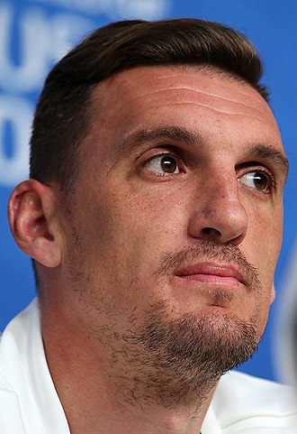 Franco Armani - Armani during a press conference with Argentina at the 2018 World Cup