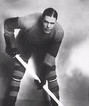 Frank Fredrickson - Fredrickson with the Victoria Cougars.