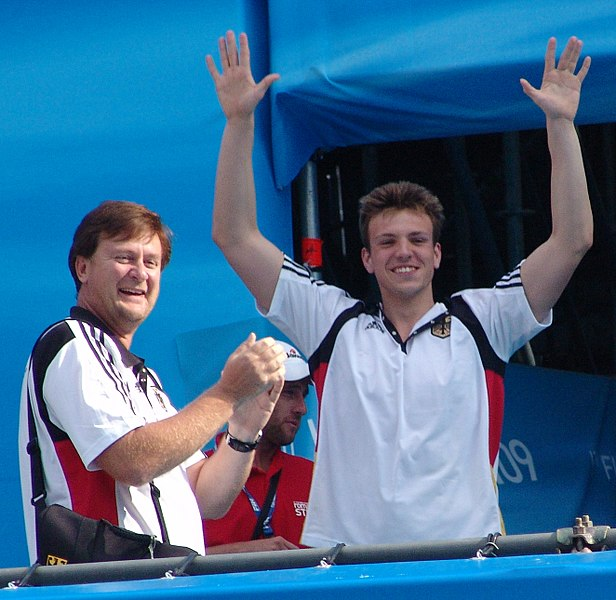 File:Frank Embacher and Paul Biedermann - FINA World Championships 2009 in Rome.jpg