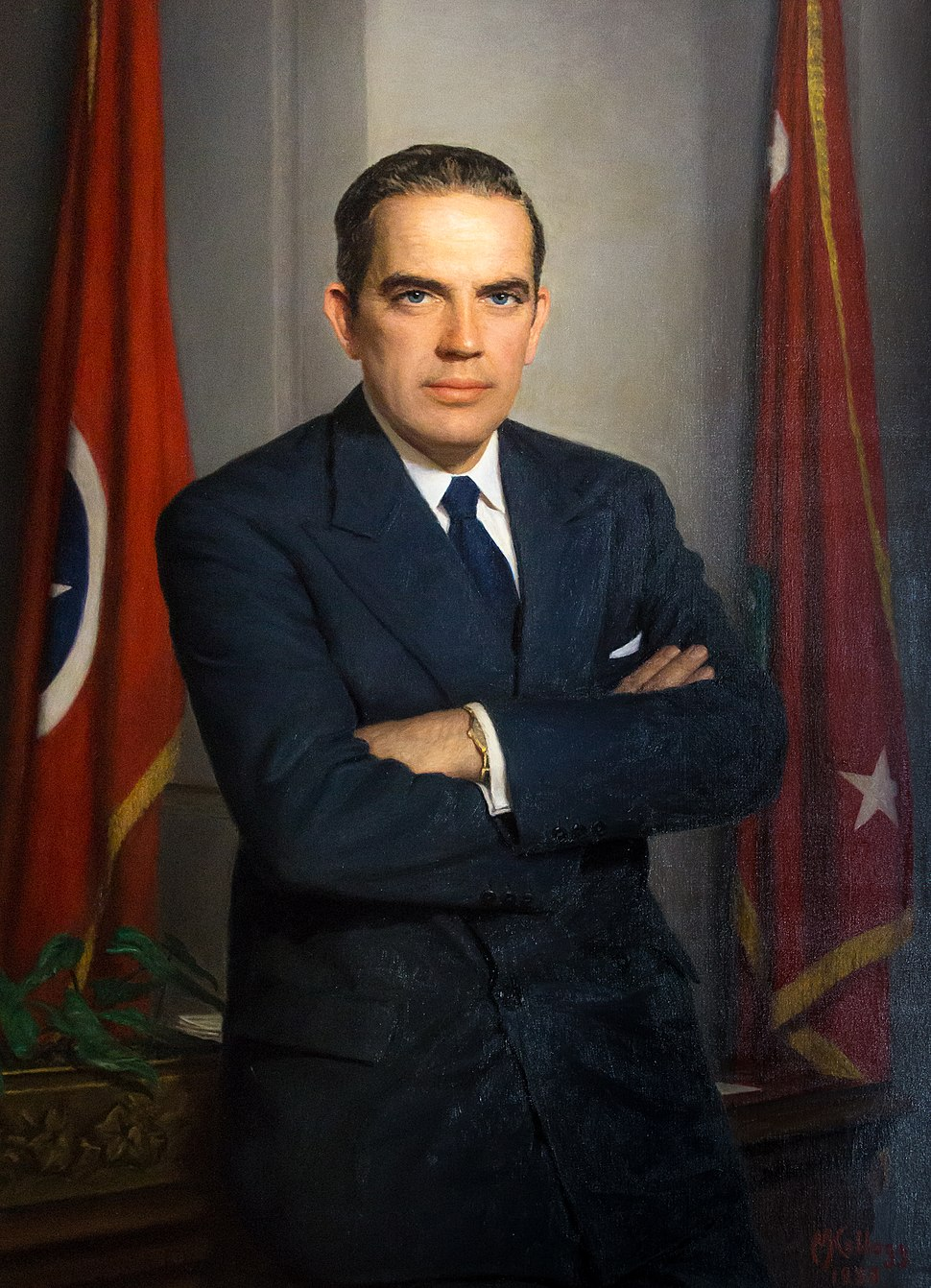 Frank Goad Clement Tennessee Governor