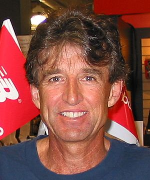 Bolder Boulder - Frank Shorter won the men's race in 1981.