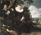 Frans Hals - Married Couple in a Garden - WGA11066.jpg