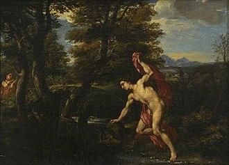 Franciscus de Neve (II) - Narcissus and Echo