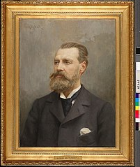 Portrait of Architect Theodor Decker