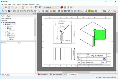 FreeCAD TechDraw.png