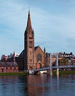 File:Free North Church and Greig Street Bridge over river Ness Inverness Scotland (5123460913).jpg