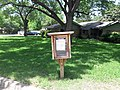 Free library in street arlington texas 2020.jpg