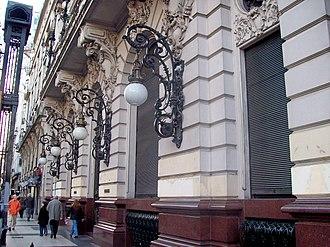 Buenos Aires House of Culture - Image: Frente Casa de la Cultura Avenida de Mayo