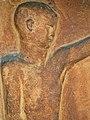 Friedhof Sissach, Brunnen, Terrakotta Relief von 1919 oder 1924 von Jakob Probst (1880–1966), Bildhauer (2).jpg