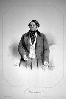 Friedrich Beckmann, 1856, Lithographie von Josef Kriehuber (Quelle: Wikimedia)