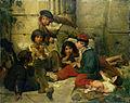Friedrich Karl Hausmann - Pariser Straßenkinder (1852).jpg