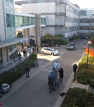 Point Grey Campus, University of British Columbia - Fringe filming at UBC