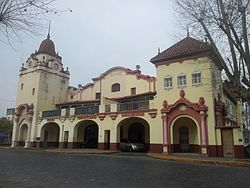 Front of Museo Ferroviario Bonaerense (Train Museum of Buenos Aires) 02.jpg