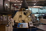 Frontiers of Flight Museum December 2015 085 (Apollo 7 Command Module).jpg