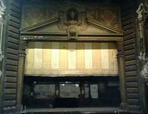 Fox Theatre (Fullerton, California) - Image: Fullerton Stage