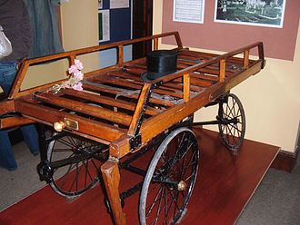 Somerset Rural Life Museum - Image: Funeral bier