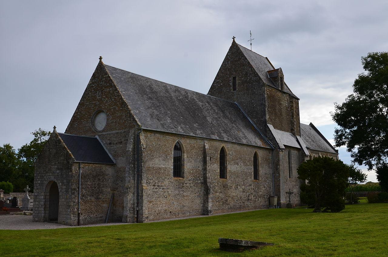 Géfosse-Fontenay - Église Saint-Pierre (1).JPG