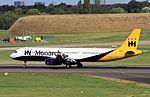 G-OJEG A321 Monarch BHX 29-09-16 (30895202371).jpg