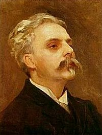 Gabriel Fauré (1845–1924) fue el profesor de Ravel a quien éste dedicaría sus Jeux d'eau y su Cuarteto.