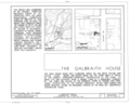 Galbraith House, Montgomery Street, Idaho City, Boise County, ID HABS ID,8-IDCI,3- (sheet 1 of 7).png