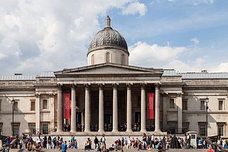 National Gallery - The gallery's main entrance