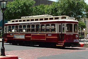 Galveston Island Trolley - Image: Galveston island trolly