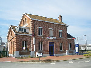 Esquelbecq - Esquelbecq train station