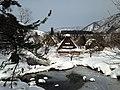 Gassho-zukuri Minkaen Garden 20150121-5.JPG