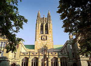 Gasson Hall - Gasson Tower