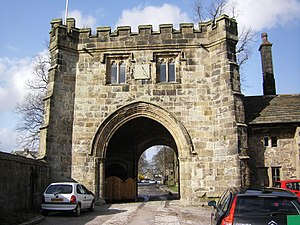 Whalley Abbey - Whalley Abbey Gatehouse