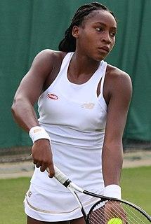 Coco Gauff American tennis player