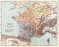 Gaule et pays voisins en 714, Auguste Longnon 1907.jpg