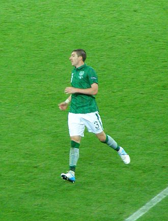Stephen Ward (footballer) - Ward in action during Euro 2012.