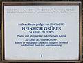Gedenktafel Dorfstr 10 (Kauld) Heinrich Grüber.jpg