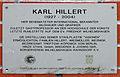 Gedenktafel Schönblicker Str (RahndWil) Karl Hillert.jpg
