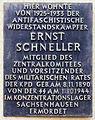 Gedenktafel Schnellerstr 70a (Nischw) Ernst Schneller.jpg