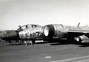 58th Weather Reconnaissance Squadron - WB-57F of the 58th Weather Reconnaissance Squadron