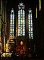 Gent Basiliek Onze Lieve Vrouw van Lourdes Innen Chorfenster 1.jpg