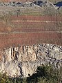 Geology at Croft Quarry - geograph.org.uk - 1136362.jpg